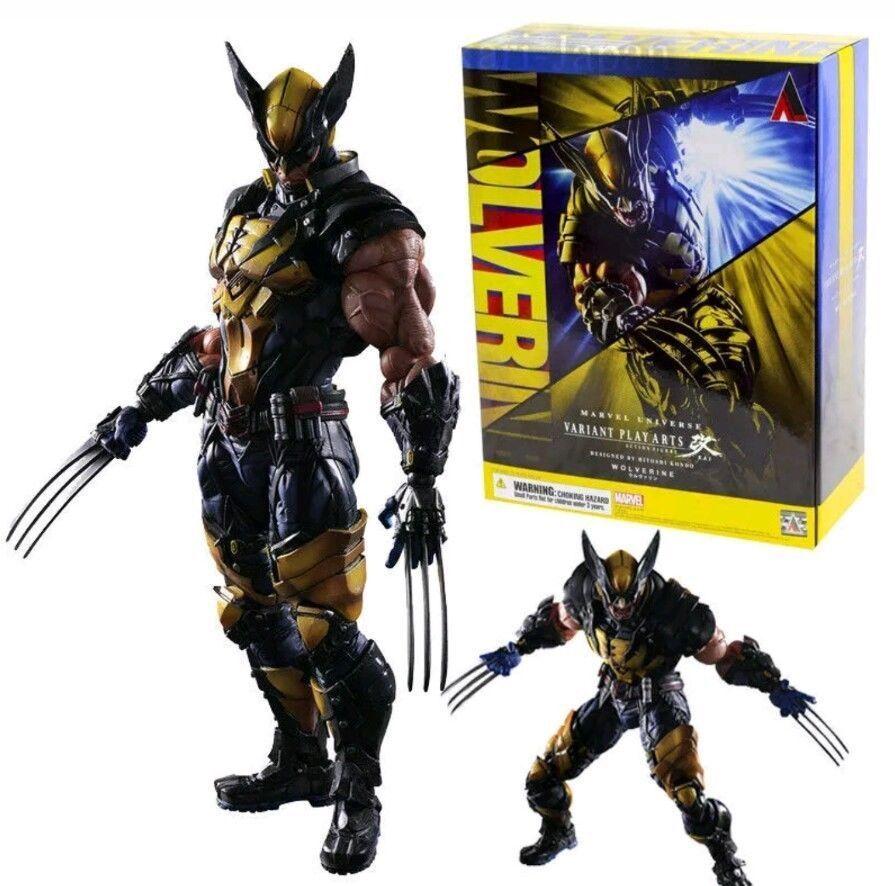 X-MEN - Wolverine Figura Acci 65533;65533;n Lobezno, 26 cm.Åtgärd Figur Logan Ny med ruta