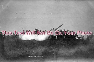NO-192-Firing-A-Rocket-Cullercoats-Northumberland-6x4-Photo