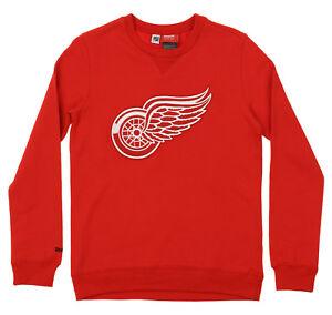 Reebok NHL Youth s Detroit Red Wings Prime Pullover Fleece Crew-TMC ... fdd1c7d94