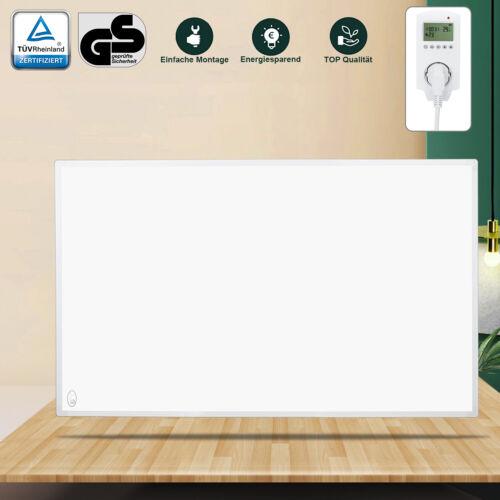 Infrarotheizung Elektroheizung Heizkörper Heizung mit Thermostat Heizpaneel 600W