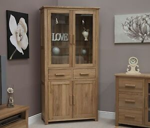 Boston-display-cabinet-dresser-library-unit-solid-oak-furniture