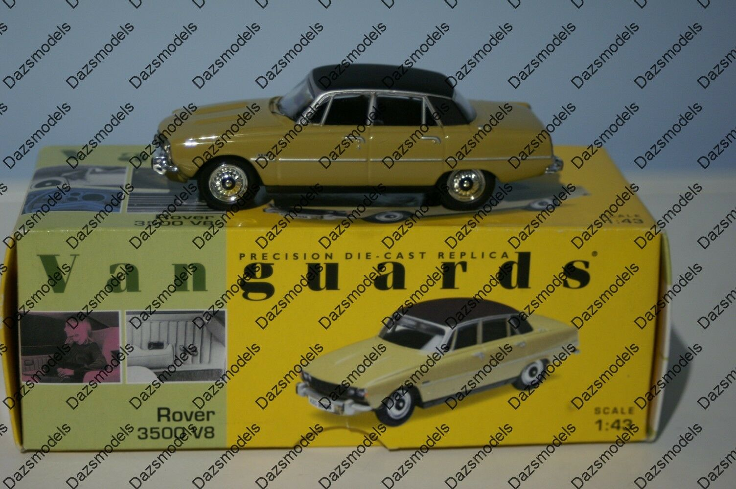 Vanguards Rover 3500 V8 Almond Almond Almond VA06500 1 43 Scale 430414