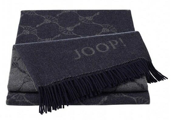 JOOP  Plaid Faded Cornflower   Marino - 130 x 180 cm