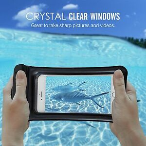 Underwater Waterproof Bag Dry Pouch Case Cover iPhone 6s 7 Plus Galaxy S8 Plus