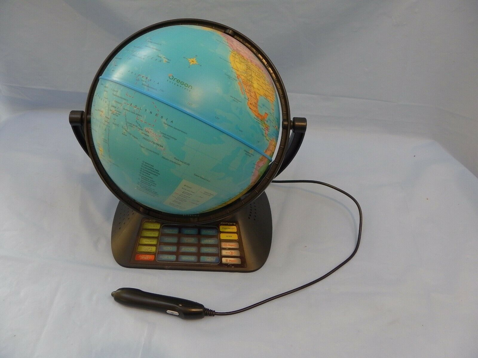 Oregon Scientific Smart Globe with Pen SG01-18 Geography Educational Spielzeug Globus