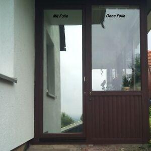 6 51 m premium spiegelfolie spion fenster uv sonnenschutz sichtschutzfolie ebay. Black Bedroom Furniture Sets. Home Design Ideas