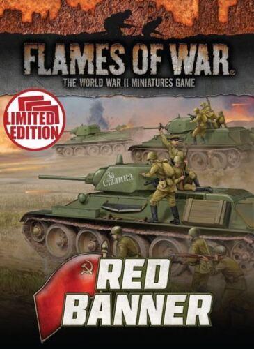 Soviet Red Banner Unit Cards FW250U Mid War Flames of War