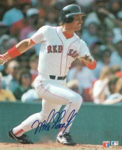 MIKE-GREENWELL-BOSTON-RED-SOX-SIGNED-AUTOGRAPHED-8X10-PHOTO-W-COA