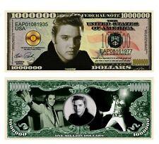 50 Factory Fresh Elvis Presley Million Dollar Bills