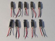 10pcs DC Micro Pager/Cell Phone Vibrating Vibration Motors 4mm X 8mm US Qwk Ship