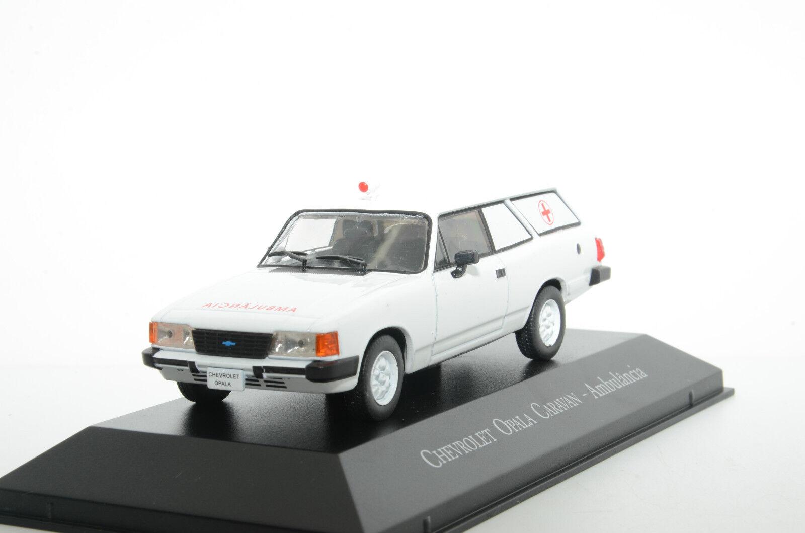 Chevrolet Opala autoavan Ambulancia Ambulanza Brasile IXO Altaya 1 43