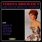 Teresa Brewer's Greatest Hits in Stereo/Don't Mess with Tess by Teresa Brewer (CD, Aug-2013, Sepia Records)