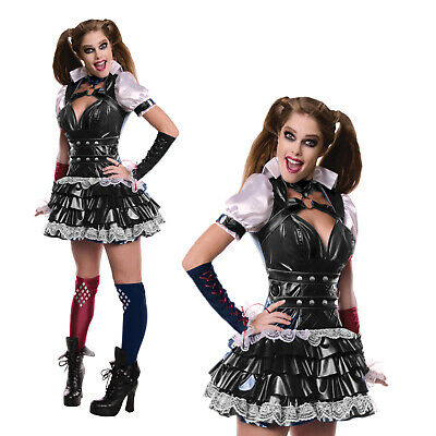Ladies Rubies Secret Wishes DC Comics Harley Quinn Fancy Dress Costume