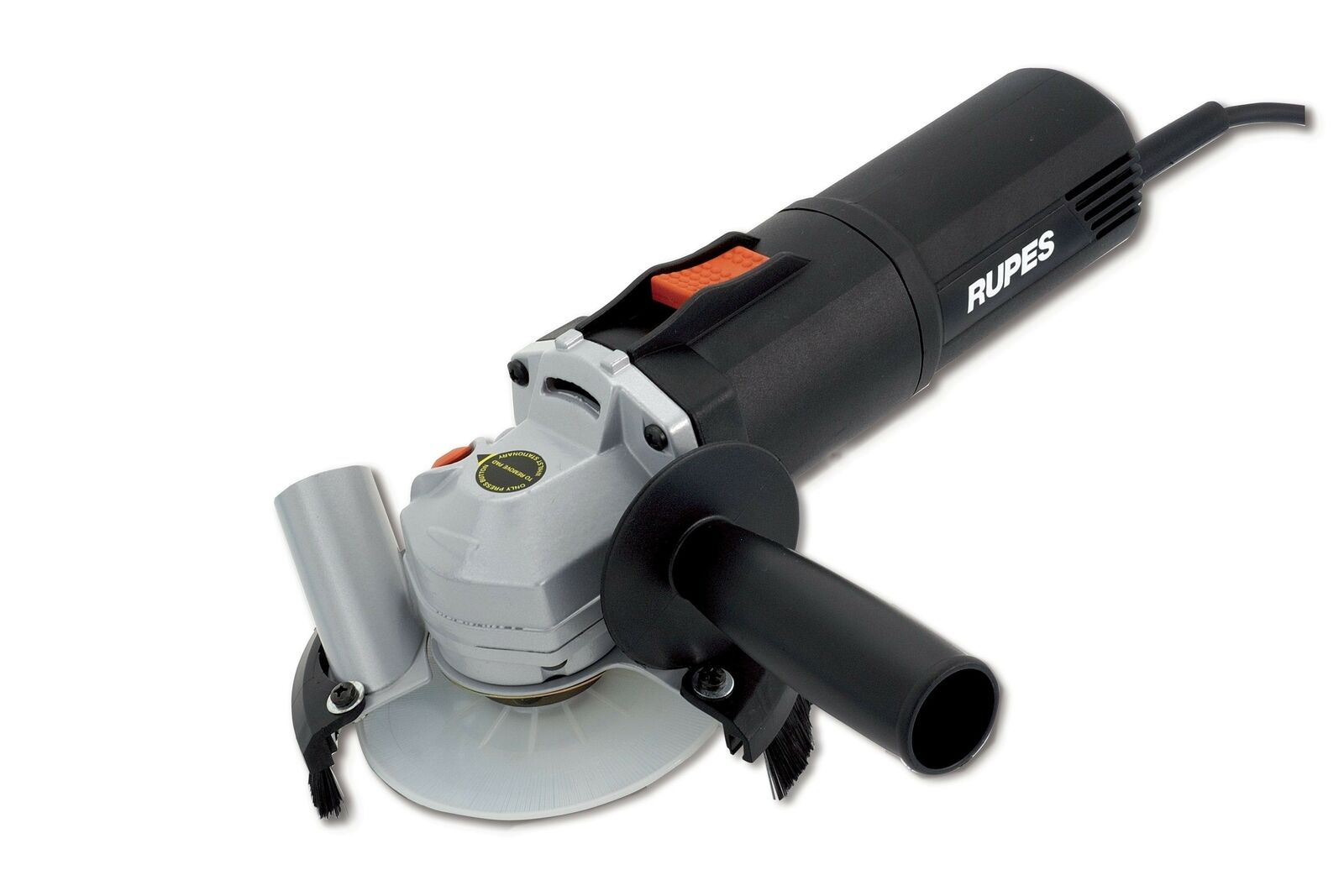 Rupes Electric Grinder BA31ES 115mm 4 1 2  Angle Grinder with Dust Extraction