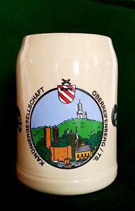 Bierkrug-Kanoniergesellschaft-Oberreifenberg-Taunus-Hessen-Schmitten-Beer-Mug