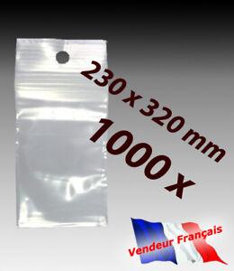 LOT-1000-sachets-pochette-plastique-zip-230x320-23x32-sac-alimentaire-pochon-f