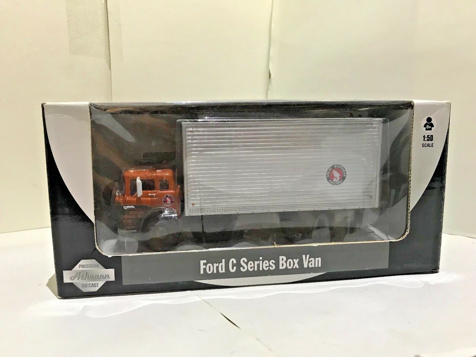 Athearn Ford Van Camión Caja de serie C, trenes de juguete clásicos o escala 1 50, En Caja