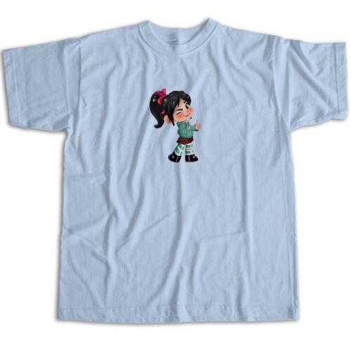 Vanellope Wreck-It Ralph 2 Breaks Internet Mens Womens Kids Unisex Tee T-Shirt