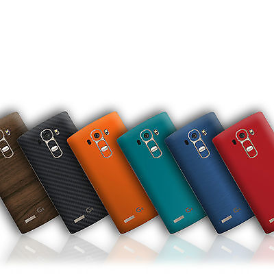 Textured Skin Wrap Sticker For LG G4 & G4C Carbon Decal Case Matt Metal Leather