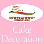 bartsharpairbrushcakedecoration