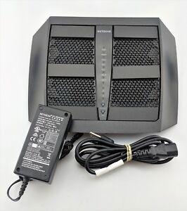 Netgear-Nighthawk-X6-AC3200-1300-Mbps-4-Port-Gigabit-Wireless-Router-Fair-Shape