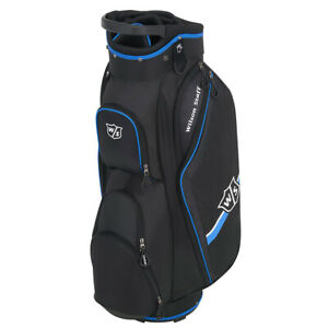 Wilson-Staff-Lite-II-Golfbag-Trolley-Cart-Bag-Golftasche-schwarz-blau