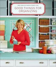 The Best of Martha Stewart Living: Good Things for Organizing : Martha Stewart Living by Martha Stewart Living Magazine Staff (2001, Paperback)
