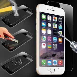 Lot-4-vitre-protection-verre-trempe-film-protecteur-iPhone-2-4-5-6-7-8-X-plus