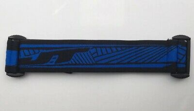 NEW Black /& BLUE JT Proflex Strap Paintball Mask Goggle Strap Spectra