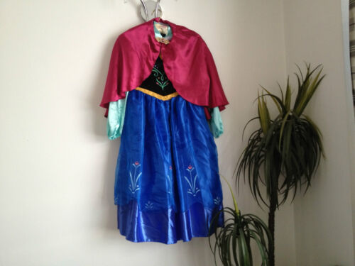Disney Store Frozen Exclusive Anna Fancy Dress Costume All Ages NEW **LOOK**