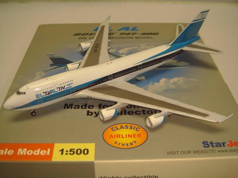 StarJets 500 EL AL B747-400