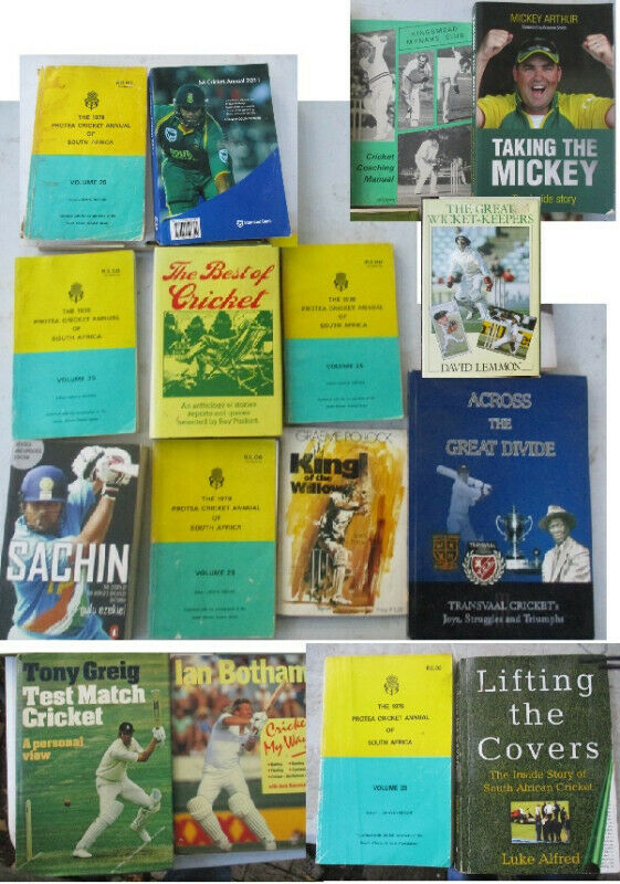 Cricket Books for sale