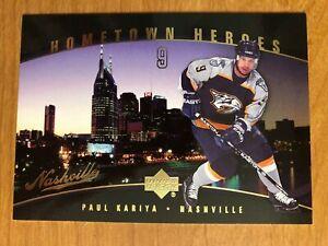 Lot-of-53-Paul-Kariya-hockey-cards-Blues-Ducks-inserts