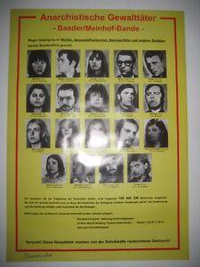 Anarchistische-Gewalttaeter-Baader-Meinhof-Bande-034-Fahndungsplakat-RAF-gelb
