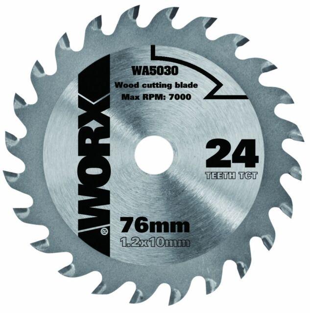 WORX 76mm 24T TCT WORXSAW Blade