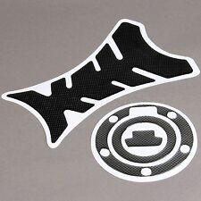 Fish Bone Tank Decal Pad + Fuel Gas Cap Sticker for Suzuki KATANA 1997-2005 1998