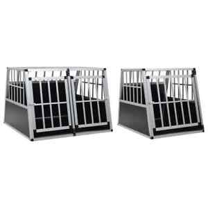 vidaXL-Dog-Cage-Dog-Kennels-Dog-Crates-with-Single-Double-Door-Multi-Sizes