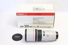 Canon EF 300mm f/4 L IS USM Lens EOS DIGITAL SUPER SHARP - 5D 7D 80D Rebel I II