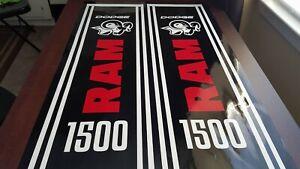 Fits-Hemi-4X4-Sport-Rebel-SXT-XLT-Dodge-Ram-1500-Bed-Stripes-Vinyl-Decal-NEW
