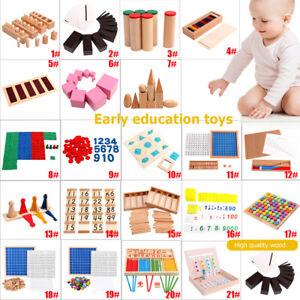 Montessori-Holz-Steckspiel-Sortierspiel-Kinderspiele-Kinder-Spiele-Spielzeug