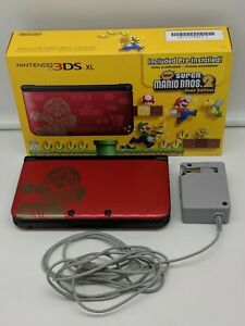 Nintendo 3ds Xl New Super Mario Bros 2 Gold Limited Edition Pre
