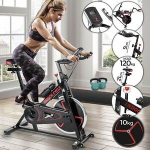 Heimtrainer-Fahrrad-Home-Indoor-Cycle-Fitness-Bike-Ergometer-Cycling-Trimmrad