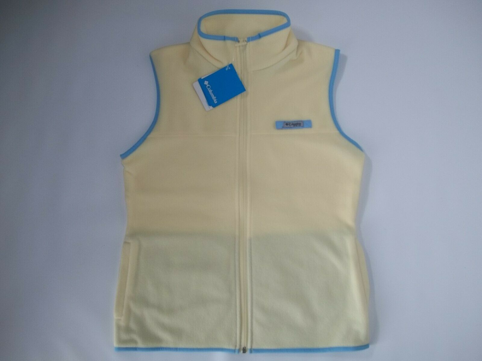 COLUMBIA Sportswear PFG Fishing HARBORSIDE Fleece VEST Womens Size MEDIUM  NEW