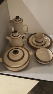 DENBY-POTTERS-WHEEL-SOUP-BOWLS-TEA-COFFEE-POT-PLATES-SELECTION-VARIED-LISTING