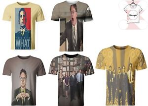 bee90da8 The Office 3D T-shirt Funny Tee Michael Scott High Quality Fashion ...