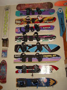 Black-Snowboard-Hanger-Holder-Display-Ceiling-Wall-Rack-Mount-Accessories-New