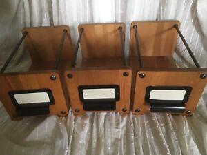 Ikea-Furutorp-Wooden-File-cd-Shelf-Dvd-Storage-14419-Holder-Organiser-Black