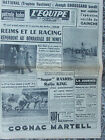 L'Equipe du 26/3/1962 - Le National - Rugby : Galles-France - Boxe : Ramos-King