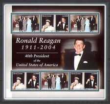 Sierra Leone 2004 QEII/Reagan/Royalty/Film m/s (n26946)