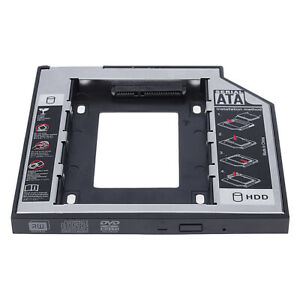Universal-12-7mm-SATA-2nd-SSD-HDD-Hard-Drive-Caddy-for-DVD-ROM-CD-Optical-Bay
